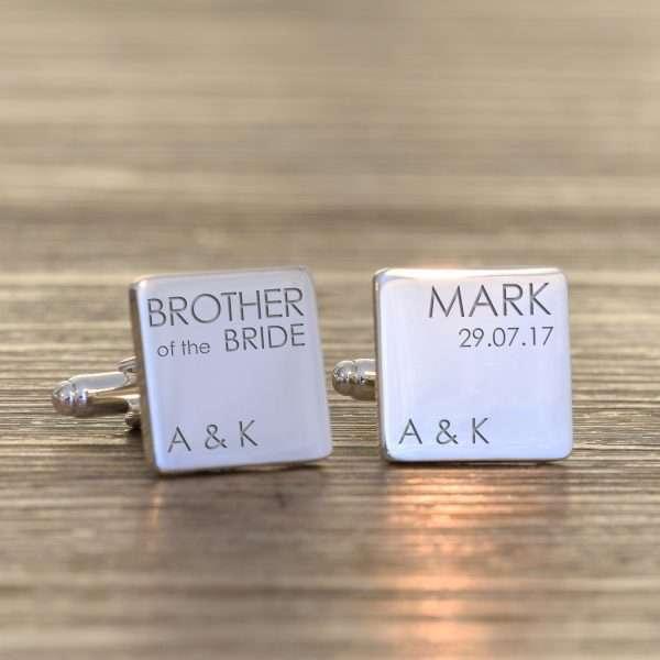 Brother Cufflinks