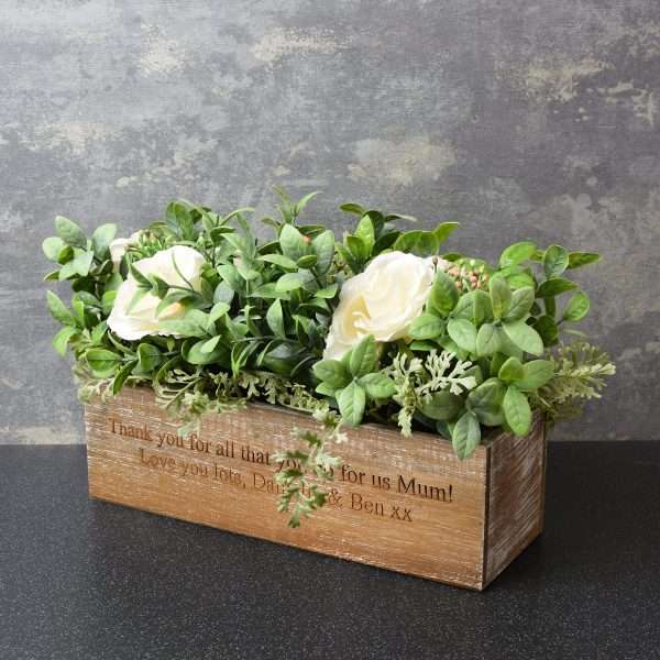 Personalised Artificial Flowers