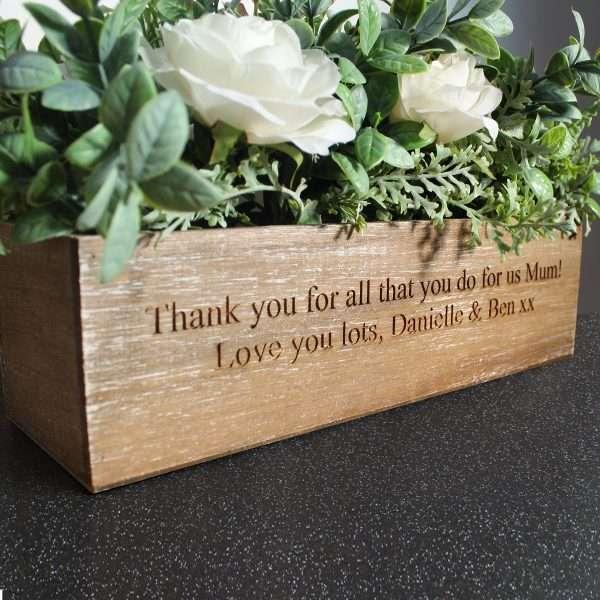 Personalised Flower Box