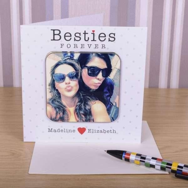 Personalised Best Friend Card