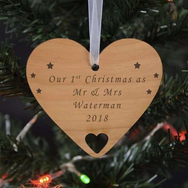 Personalised Tree Decoration