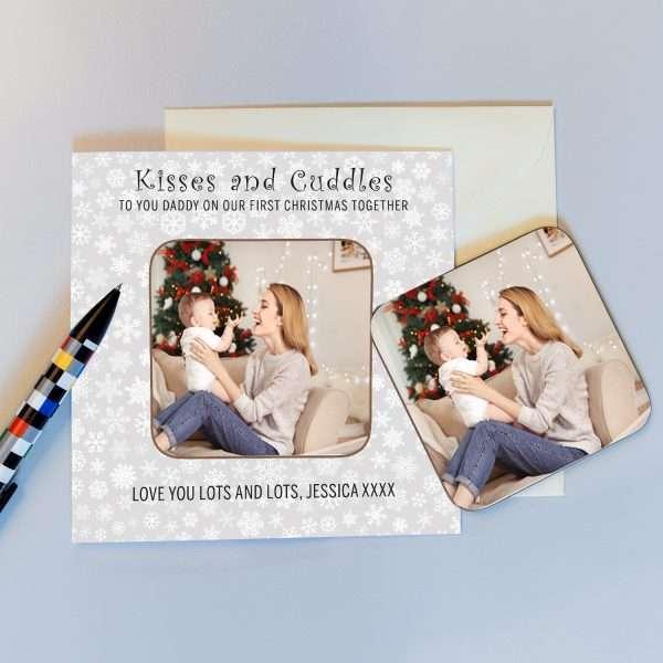 Christmas Coaster Card