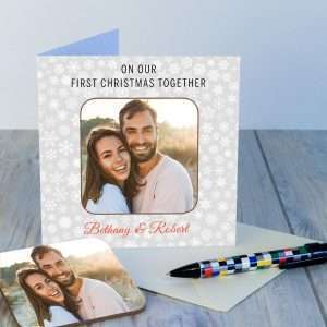 Personalised Love You Christmas Card
