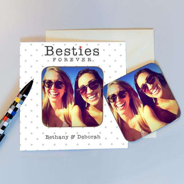 Bestie Coaster Card