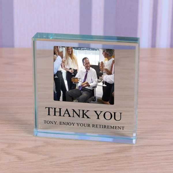 Personalised Gifts Glass Token