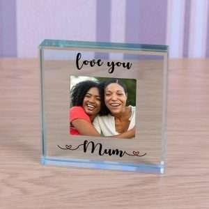 Personalised Mum Glass Token