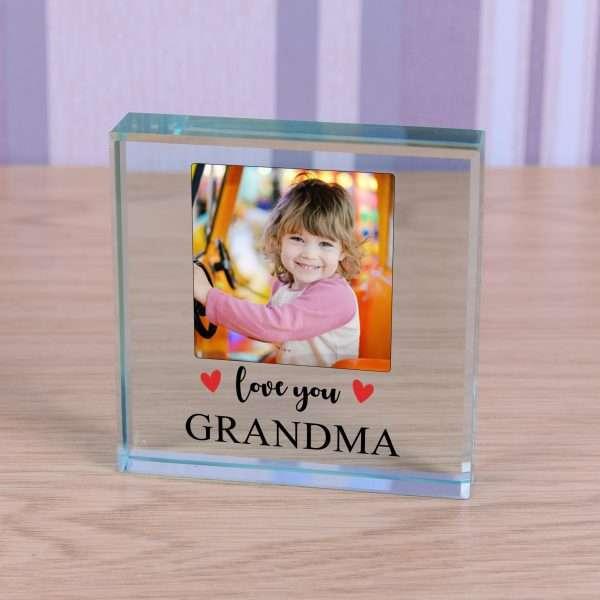 Personalised Glass Token
