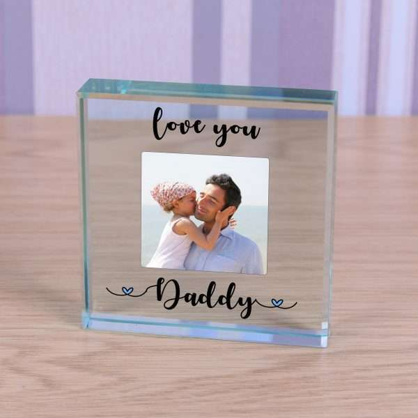 Personalised Dad Glass Token
