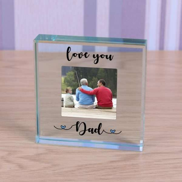 Personalised Daddy Glass Token