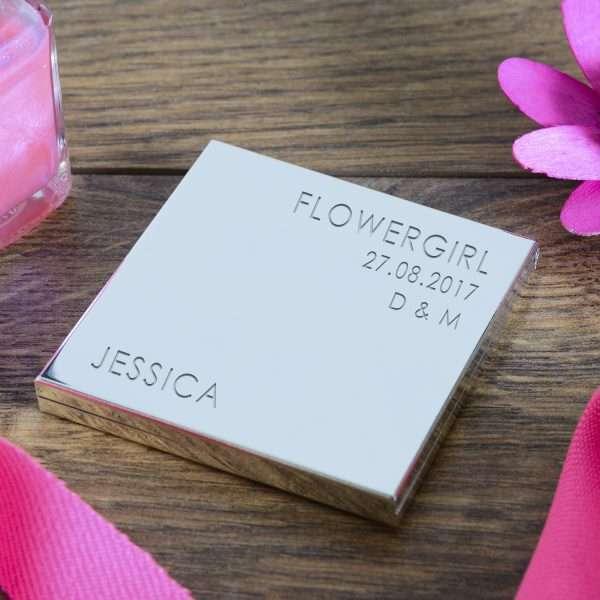 Personalised Flower Girl Gift