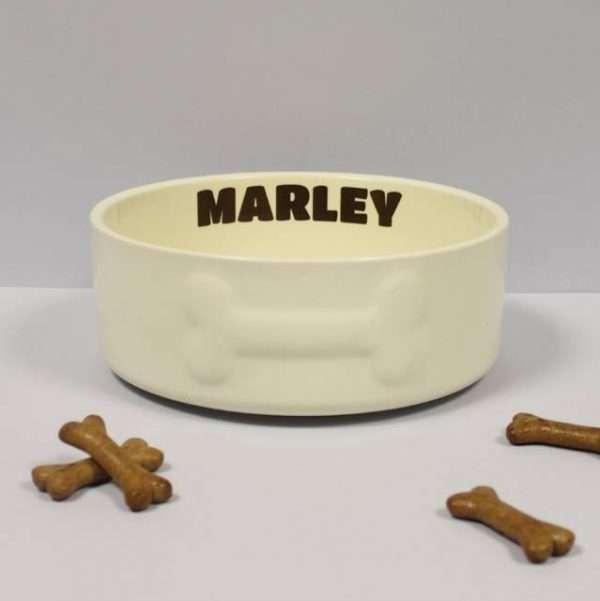 Personalised Large Dog Bowl