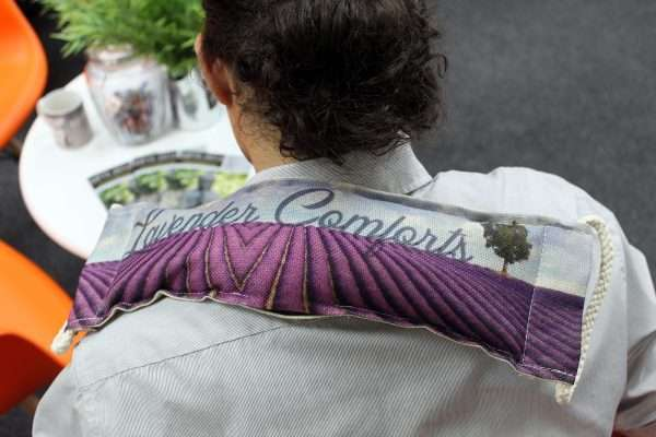 Lavender Wheat Bag - Butterlies & Roses
