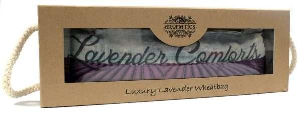 Lavender Wheat Bag - Lavender Comfort