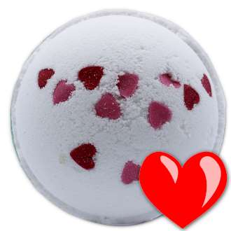 Love Heart Bath Bomb