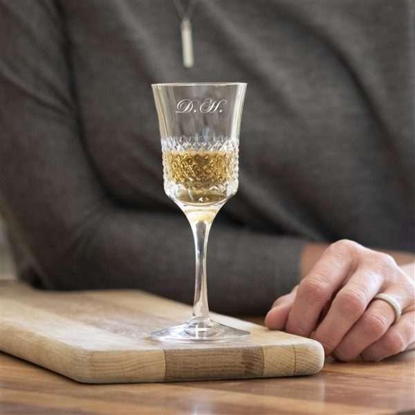 Royal Brierley Sherry Glass