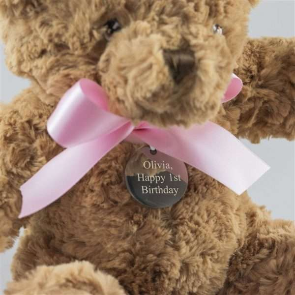 Personalised Teddy for New Girl