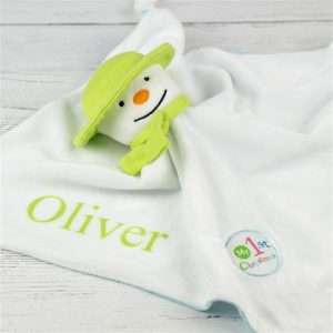 Personalised Blanket 1st Christmas