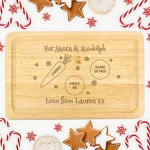 Personalised Christmas Chopping Board