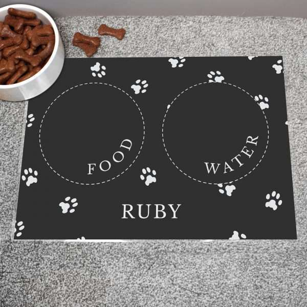 Personalised Dog Placemat