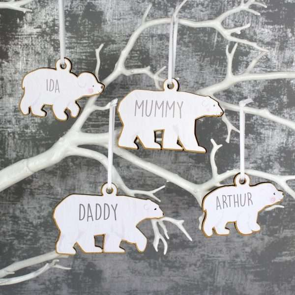 Personalised Family Tree Decorations