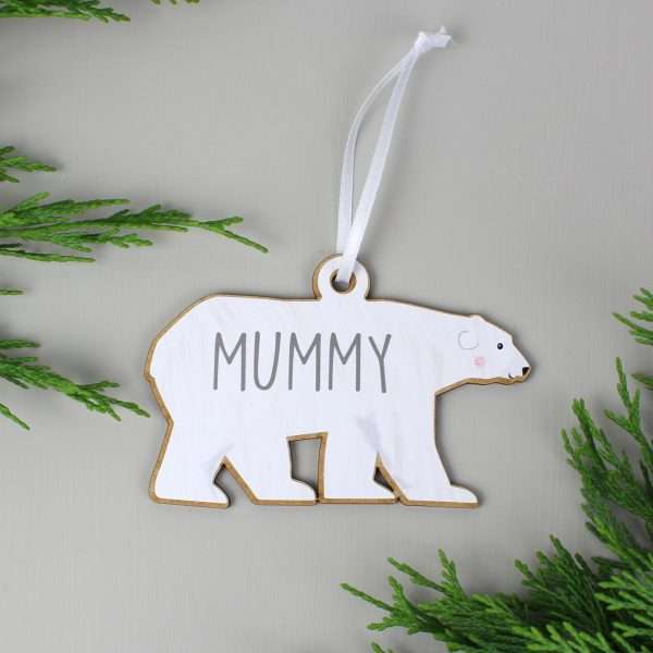 Polar Bear Tree Decoration