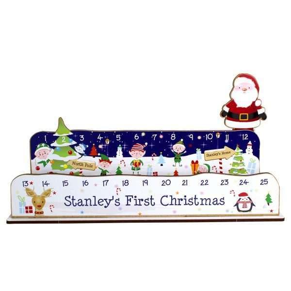 Personalised Christmas Countdown