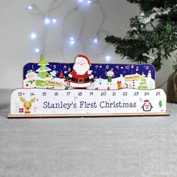 Personalised Christmas Countdown Calendar