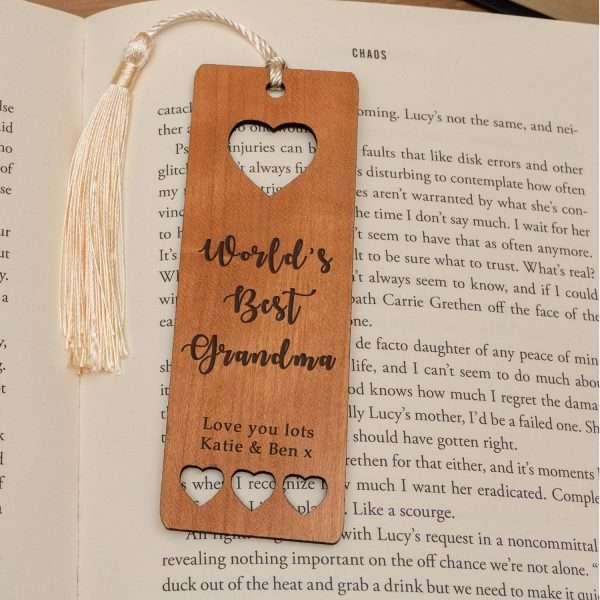 The Worlds Best Bookmark