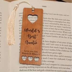 Wooden Bookmark