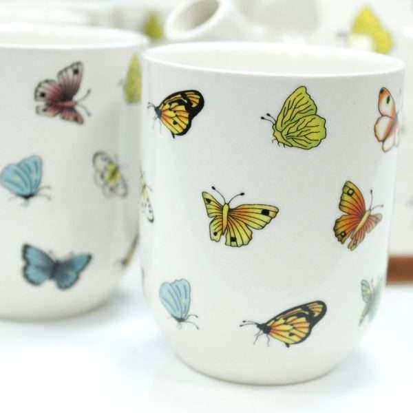 Butterfly Herbal Teapot Set