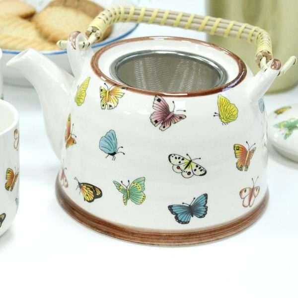 Butterfly Teapot Set