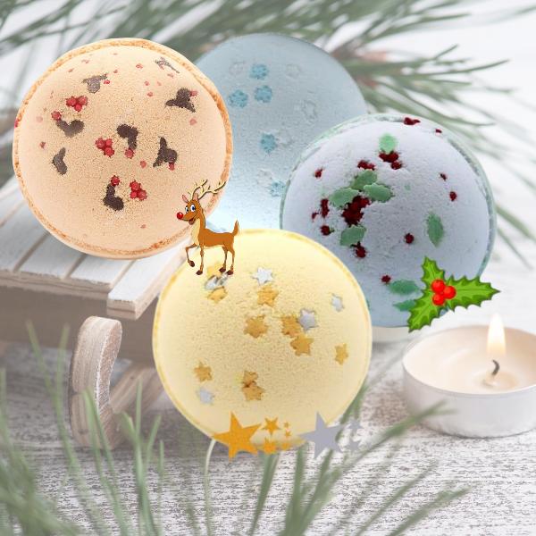 Christmas Bath Bombs