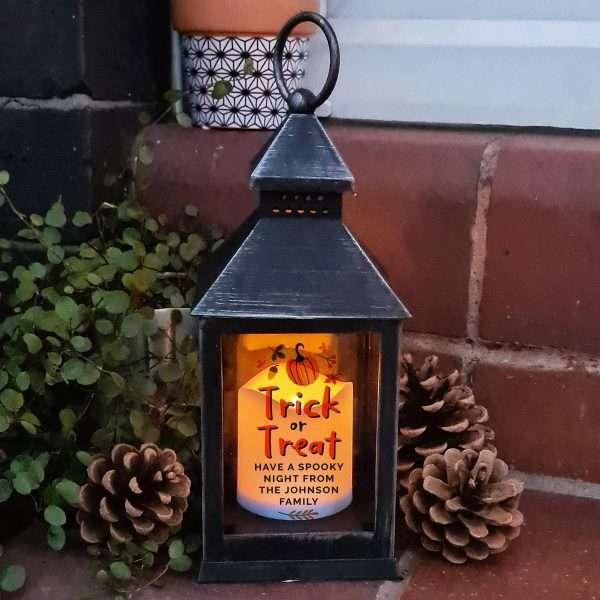 Personalised Halloween Lantern