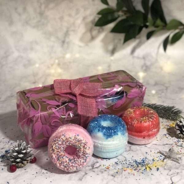 Doughnut Bath bombs Gift Pack - Mix 1